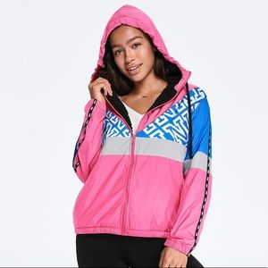 PINK Sherpa Full Zip Anorak & pants set